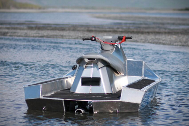 Where Is Honda Made >> AlumaSki Aluminum Jet Ski | HiConsumption