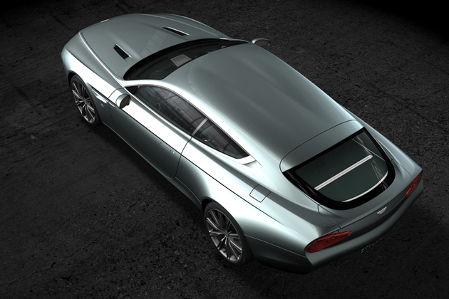Aston Martin Virage Shooting Brake Zagato 3