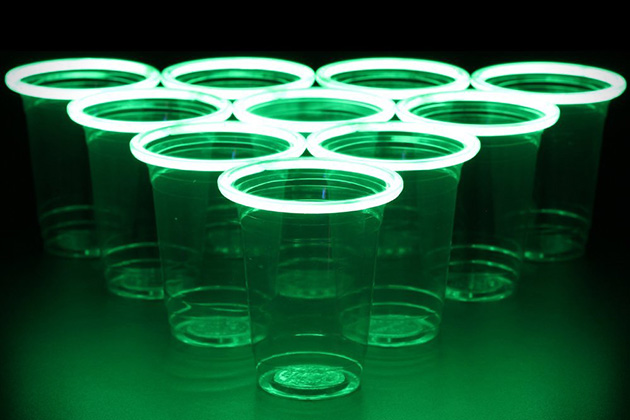 GlowPong Glow In The Dark Beer Pong 4
