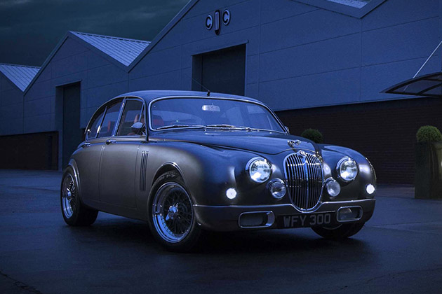 Jaguar Mark 2 Redesigned By Ian Callum 2