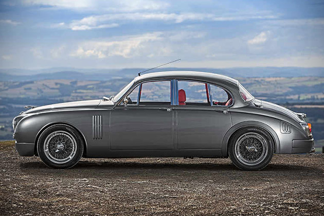 Jaguar Mark 2 Redesigned By Ian Callum 4