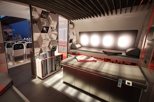 Nike Concept Plane Cabin For Pro Athletes 3