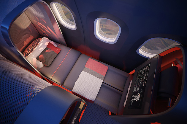 Nike Concept Plane Cabin For Pro Athletes 5