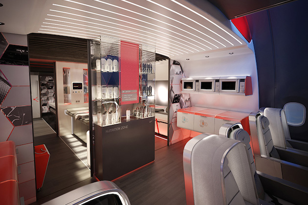 Nike Concept Plane Cabin For Pro Athletes 7