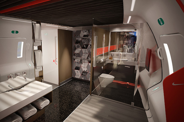 Nike Concept Plane Cabin For Pro Athletes 8