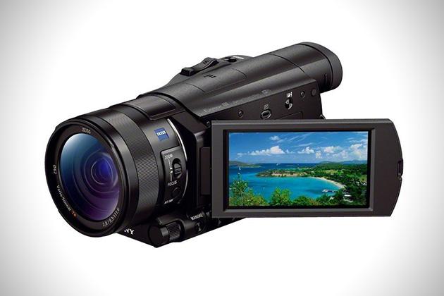 Sony FDR-AX100:B 4K