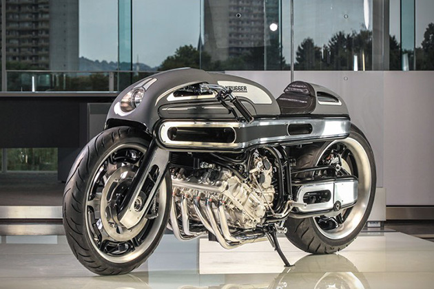BMW K1600 by Krugger Motorcycles 2