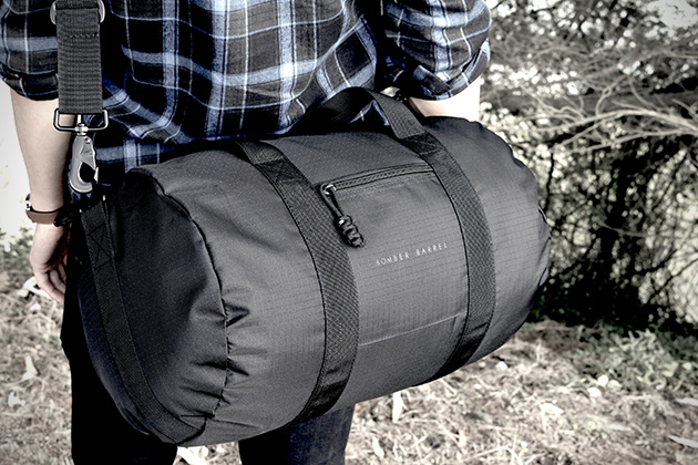 Bomber Barrel Bag 2