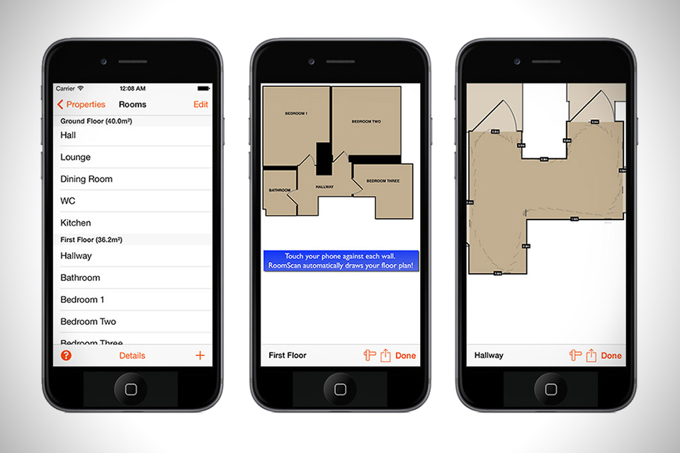 RoomScan App Draws Instant Floor Plans