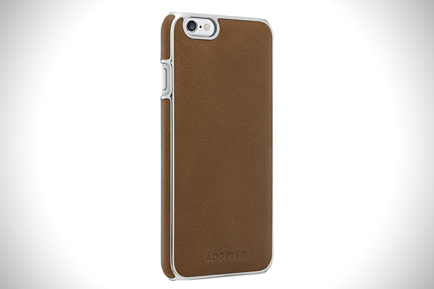 Adopted Saddle Leather Wrap Case