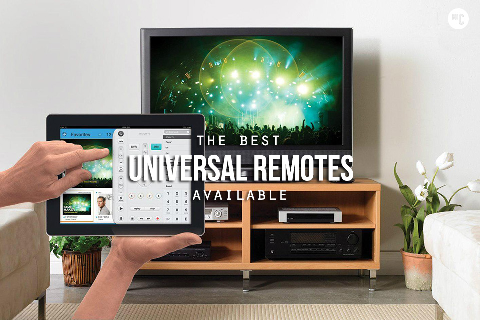 Total Control: The 9 Best Universal Remotes | HiConsumption