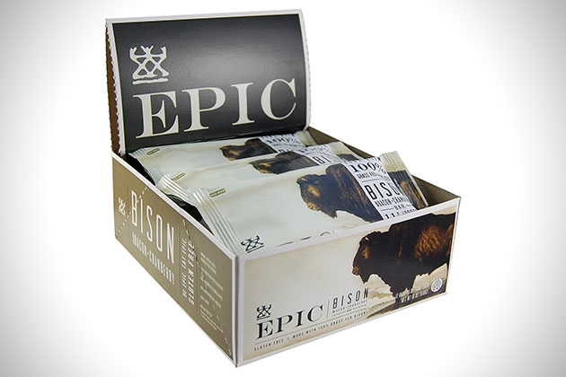 Epic Bison Bacon Cranberry All Natural Meat Bar