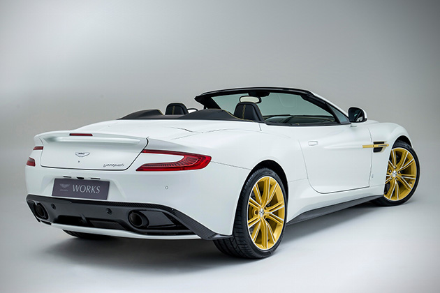 2015 Aston Martin Works Vanquish 60th Anniversary Edition 3