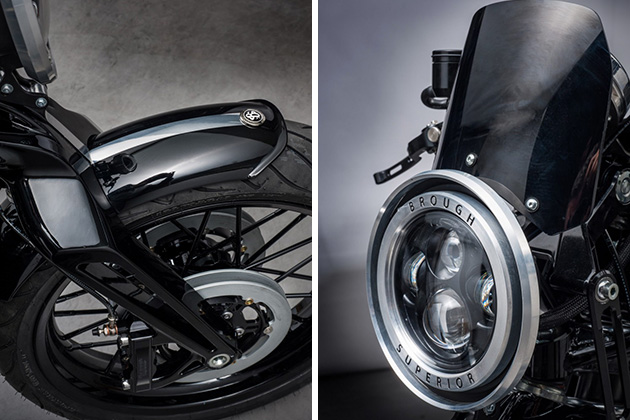Brough New Superior SS100 Motorcycle 4