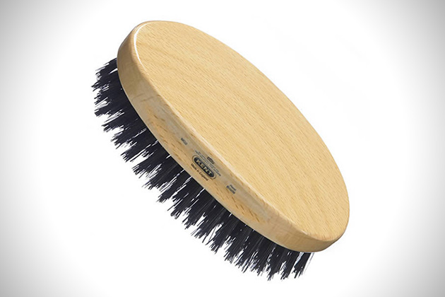 Kent MC4 Cherrywood Military Brush