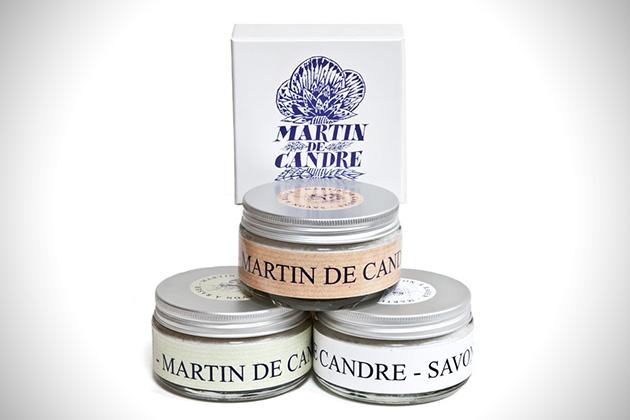 Martin de Candre Lavender-Mint Shave Soap