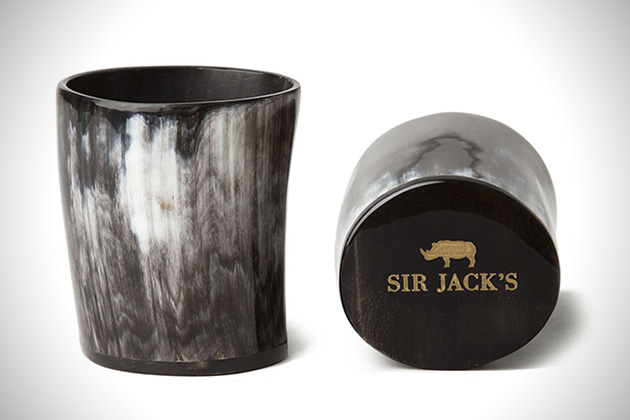 Sir Jacks Ox Horn Whiskey Tumblers 2