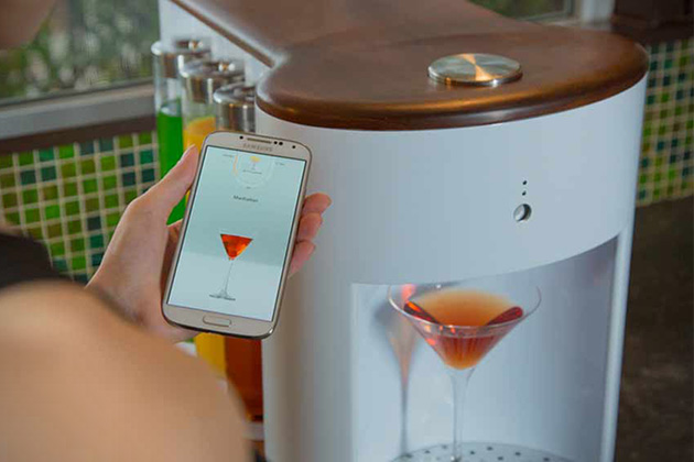 Somabar- Robotic Bartender For The Home 2