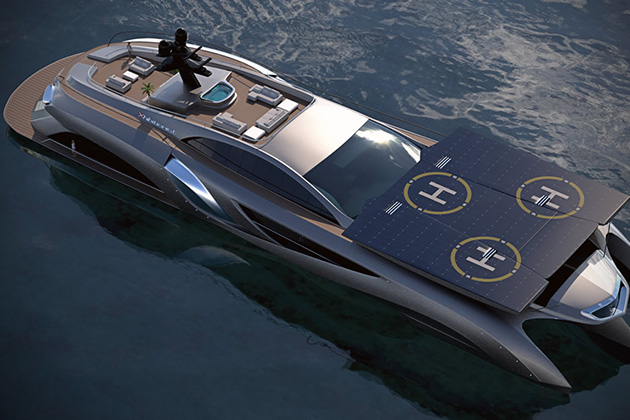 The Xhibitionist Superyacht 2