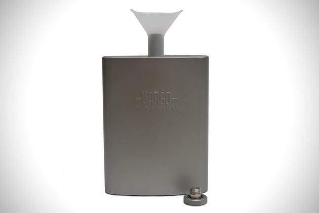 Vargo Titanium Funnel Flask 3