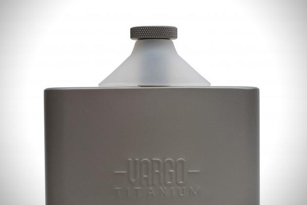 Vargo Titanium Funnel Flask 4