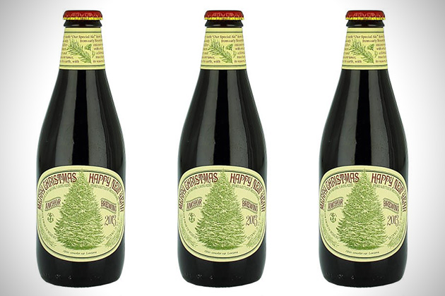 Anchor Brewing Merry Christmas and Happy New Year
