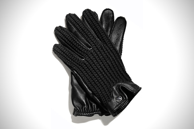 Autodromo String Black Driving Gloves
