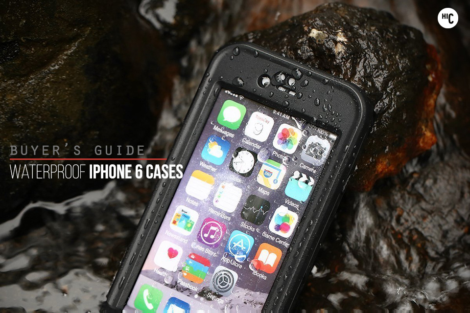 check out 47f6c 0cda3 Splash Down: The 5 Best Waterproof iPhone 6 Cases | HiConsumption