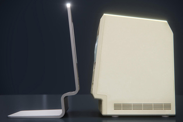 CURVED labs Concept Tribute To Apples First Macintosh 5