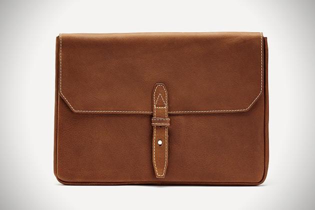 Frank Oak Genuine Italian Leather Laptop Case