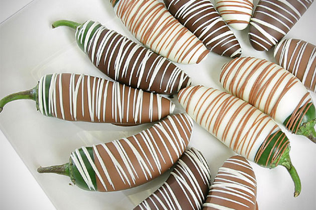 Gourmet Chocolate Covered Jalapenos
