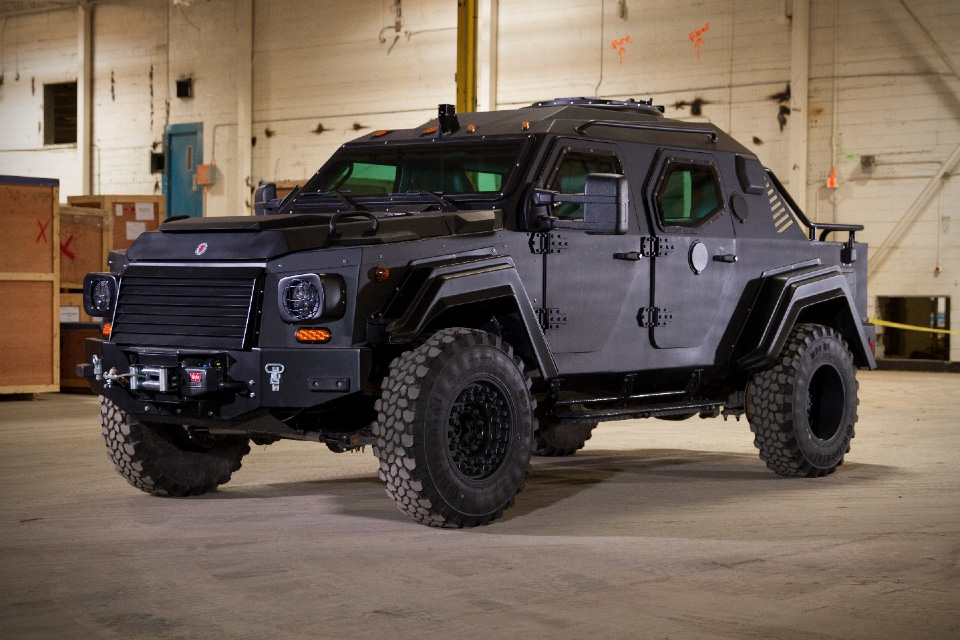 Gurkha RPV Tactical Armored Vehicle | HiConsumption