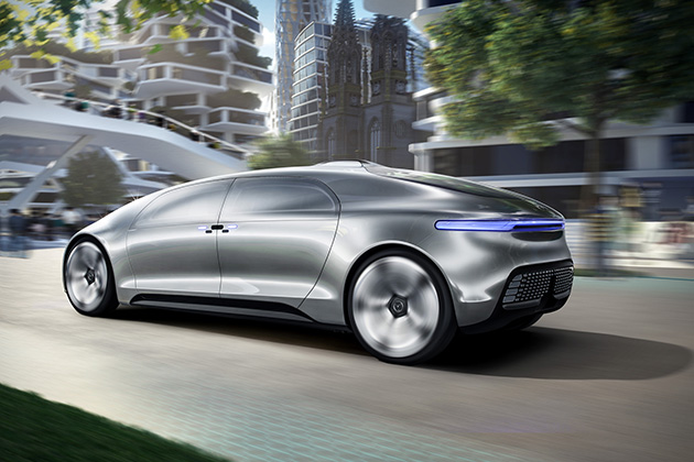 Mercedes-Benz F 015 Luxury in Motion 2