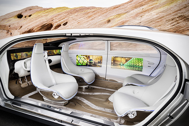 Mercedes-Benz F 015 Luxury in Motion 4