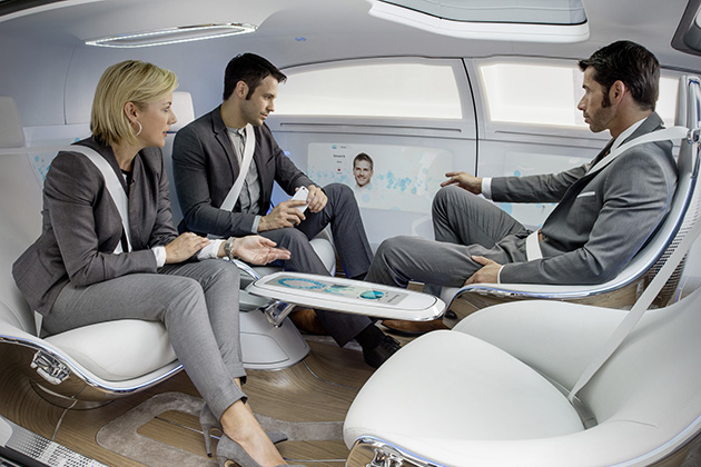Mercedes-Benz F 015 Luxury in Motion 5
