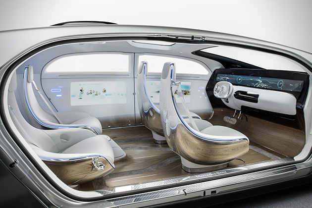 Mercedes-Benz F 015 Luxury in Motion 6