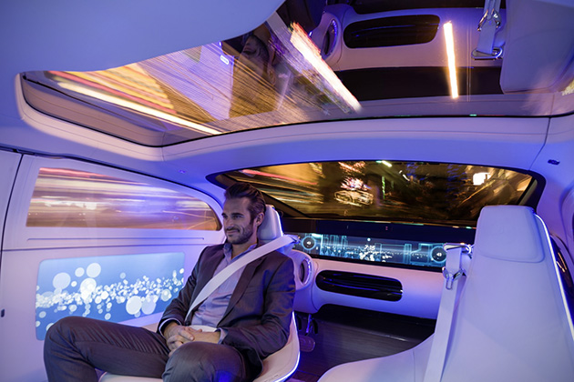 Mercedes-Benz F 015 Luxury in Motion 9