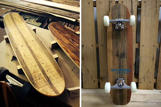 Pallet Street Cruiser by Salvaged Skateboards 2