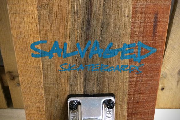 Pallet Street Cruiser by Salvaged Skateboards 3