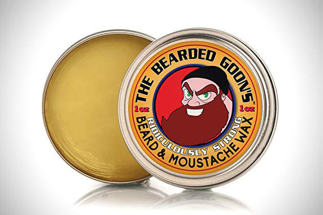 The Bearded Goons Ridiculously Strong Beard Mustache Wax
