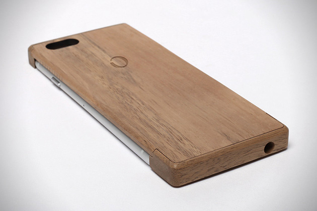 iPhone 6 Wood Shell Wireless Charger by Oree 3