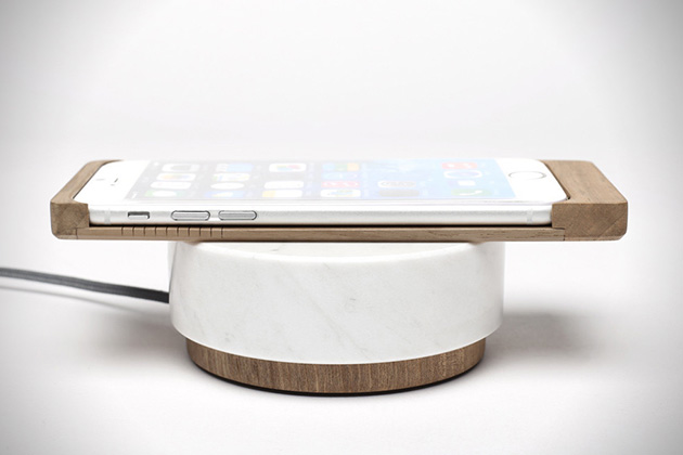 iPhone 6 Wood Shell Wireless Charger by Oree 4