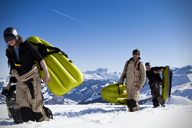 Airboard Inflatable Sled 4
