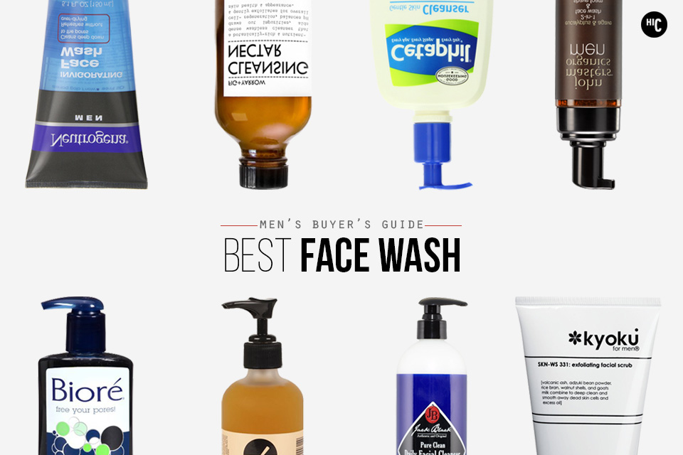 Best facial cleansers for men