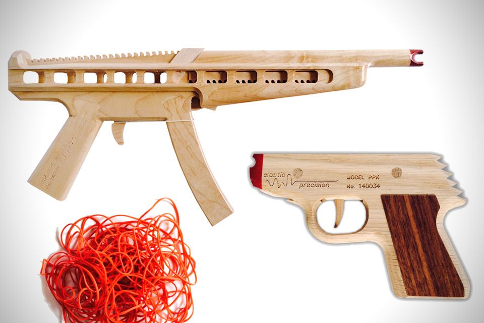 Elastic Precision Rubber Band Guns Hiconsumption