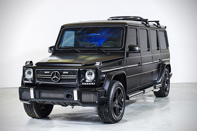 INKAS Armored Mercedes G63 AMG Limo 2