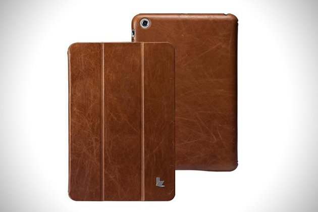 Jisoncase Leather Smart Cover