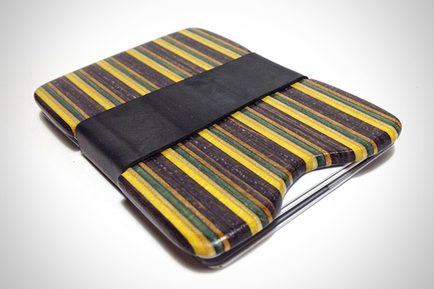 Recycled Skateboard Wallet 2