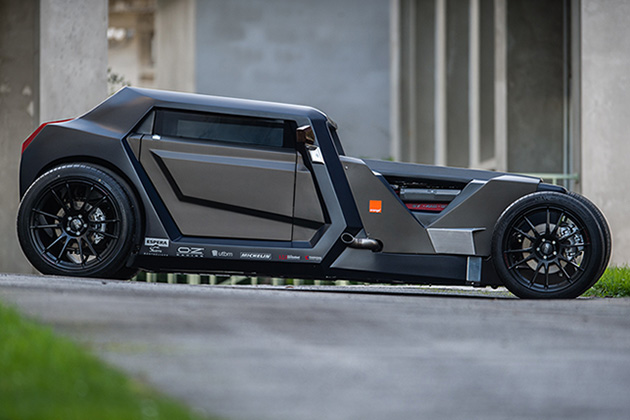 Sbarro Eight Hotrod Concept 1
