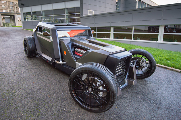 Sbarro Eight Hotrod Concept 2